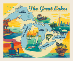 Poster Panel in Great Lakes