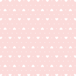 Heart Dots in Pink Sherbert