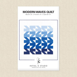 Modern Waves Quilt
