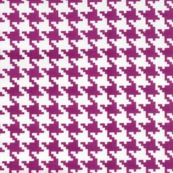 Everyday Houndstooth in Magenta
