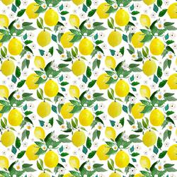 Small Lemons in White