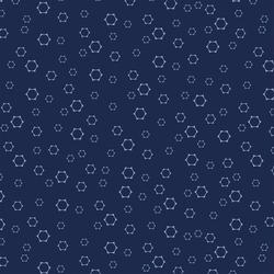 Starry Starry Night in Midnight Blue