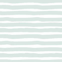 Large Painted Stripe in Iced Aqua