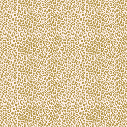 Small Leopard in Gold Glow on Soft Pink