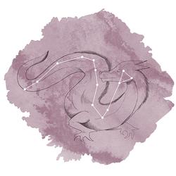 Draco Panel in Celestial