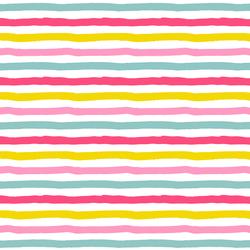 Sugar Stripe in Rainbow