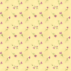 Violet Blossom in Butter