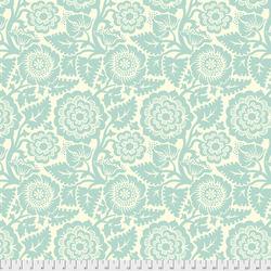 Blockprint Blossom in Jade