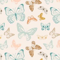 Boho Butterflies in Vintage Summer