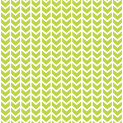 Broken Chevron in Lime
