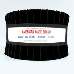 "American Made Brand 2.5"" Strip Roll in Black"
