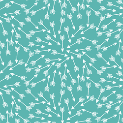 Arrows in Seafoam