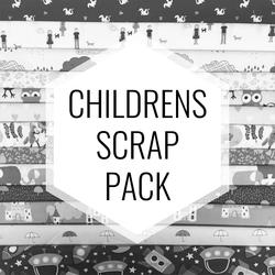 Children Prints Scrap Pack