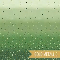Ombre Confetti Metallic in New Evergreen