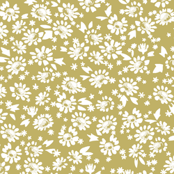 Daisies in Brass