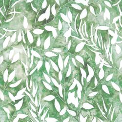 Botanical in Light Green