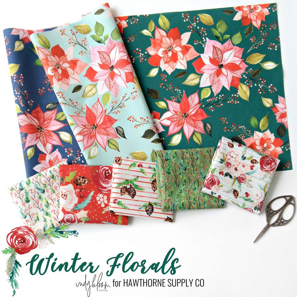 Winter Florals Poster Image