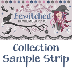 Bewitched Sample Strip