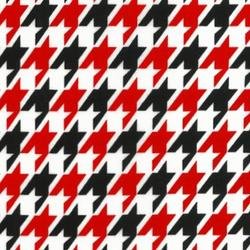 Houndstooth in Red