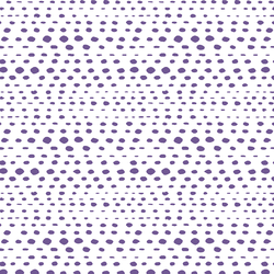 Little Skipping Stones in Ultra Violet on White