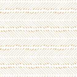 Chevron Arrows in Golden Mustard on White