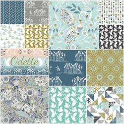 Odette Fat Quarter Bundle in Glace