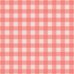 Big Gingham in Sweet Strawberry