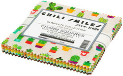 Chili Smiles Charm Squares