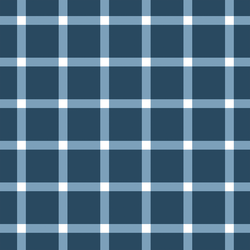 Large Liberty Gingham in Navy Blue