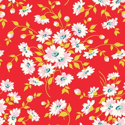 Dream Floral in Red