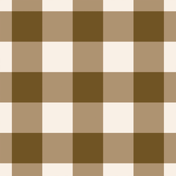 Big Gingham in Cocoa