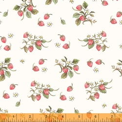 Strawberries in Ivory
