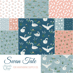 Swan Tale Fat Quarter Bundle