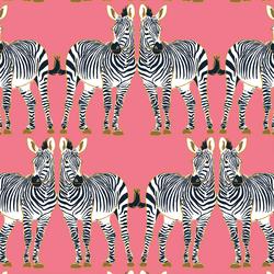 Zebra in Jewel Pink