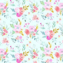 May Flowers in Aqua Sky