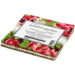 "Flowerhouse Scarlet's Garden 5"" Square Pack"