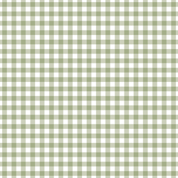 Western Gingham in Moss