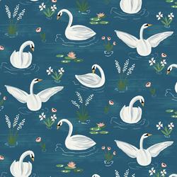 A Swan's Tale in In Blue Lake