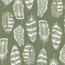 Plume in Olive