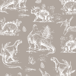Dinosaurs in Taupe