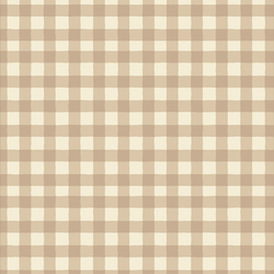 Small Plaid of my Dreams in Creme