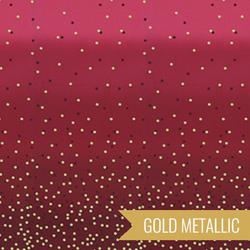 Ombre Confetti Metallic in New Burgundy