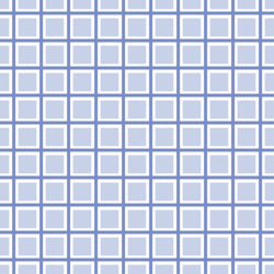 Checkered Fences in Periwinkle Blue