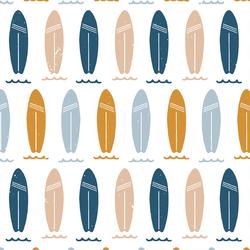 Surfboard Stripes in Beachy