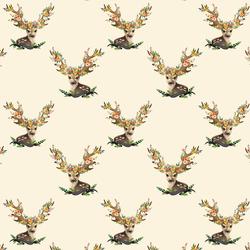 Small Meadow Deer in Ivory