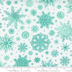 Snowflakes in Christmas White