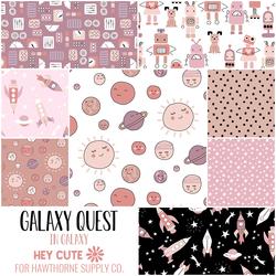 Galaxy Quest Fat Quarter Bundle in Galaxy
