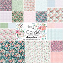 Spring Garden Fat Quarter Bundle Little Scale