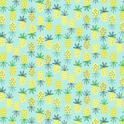Pineapples in Sea