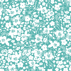 Forget Me Not in Seafoam